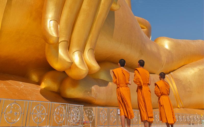 Big Buddha in Southeast Asia