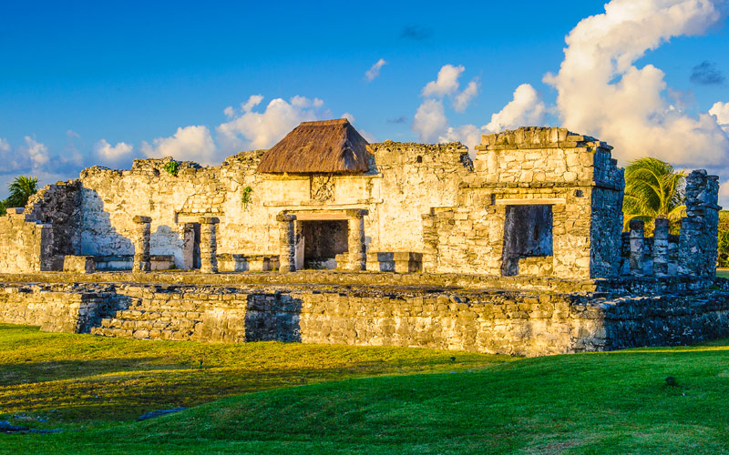 Mayan Ruins of Tulum on the Yucatan Peninsula