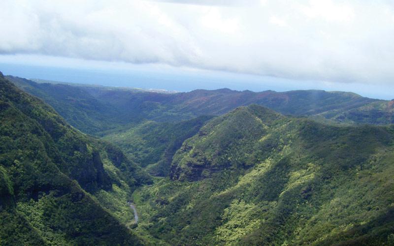 Kaua Island, Hawaii