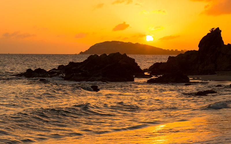 Sunset in Charlotte Amalie, BVI