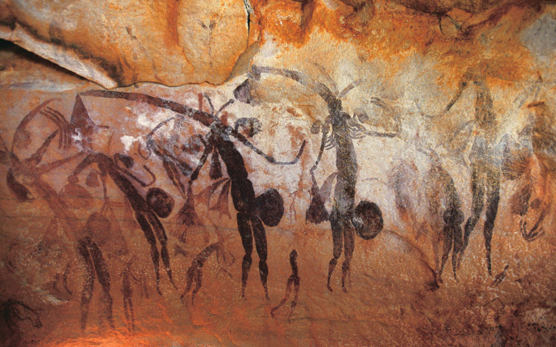 Aboriginal cave art in Western Australia