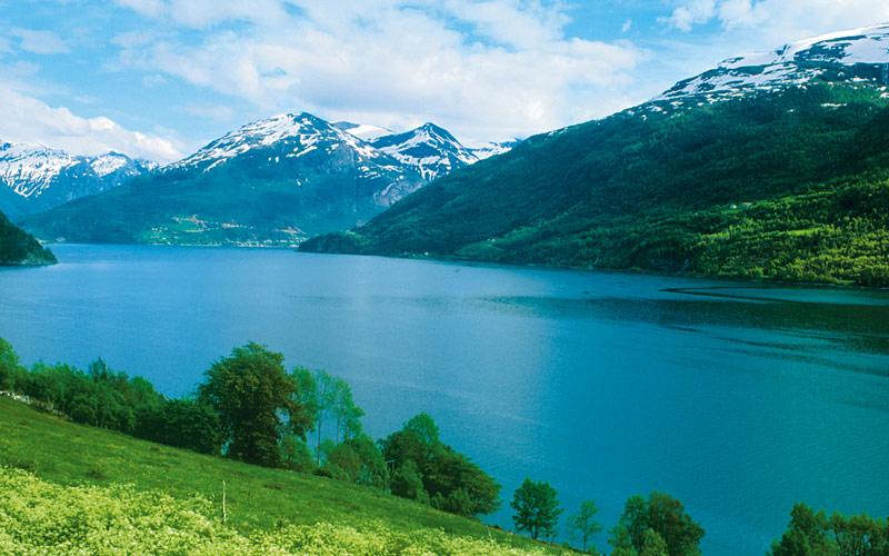 Geirander fjords in Norway