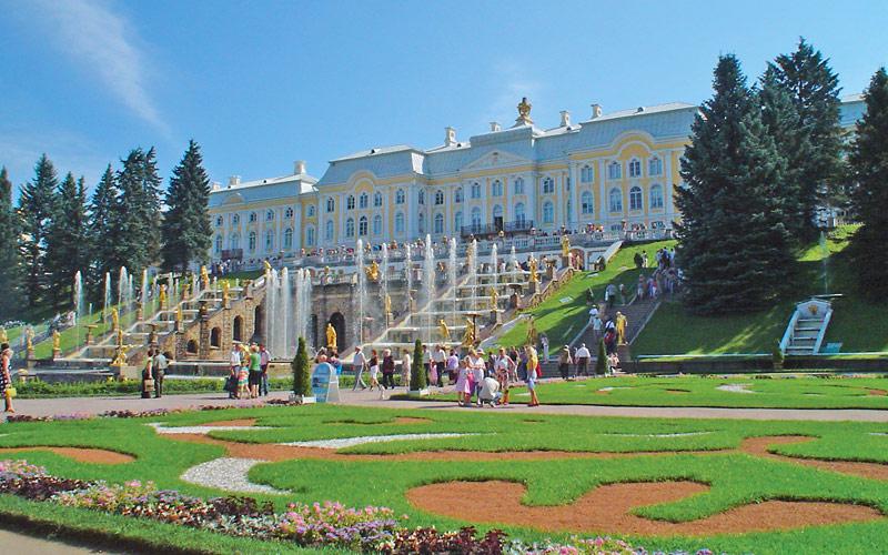Peterhof Palace in St. Petersburg, Russia