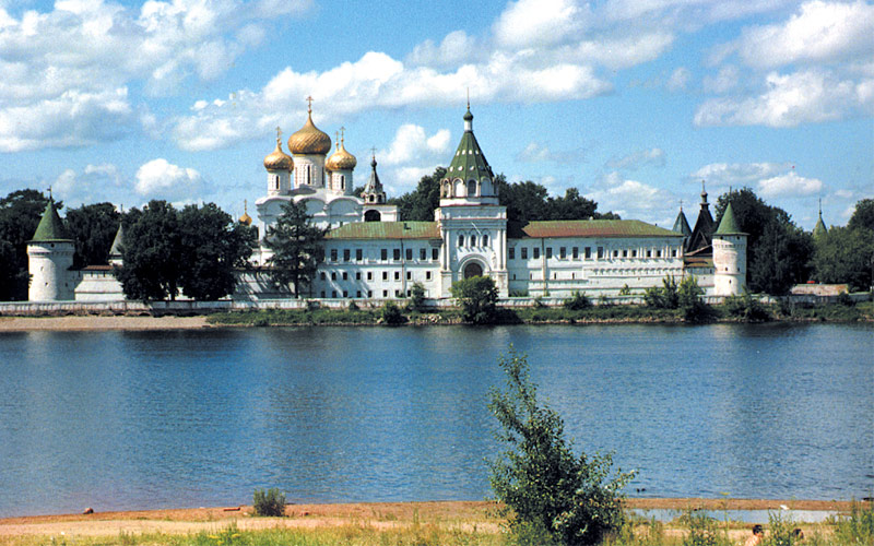 View of Kostroma, Russia from the river
