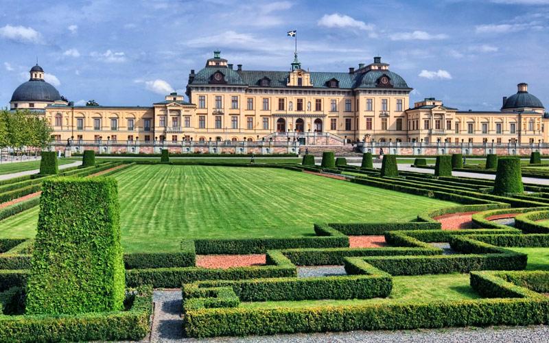 Drottningholm Palace in Sweden