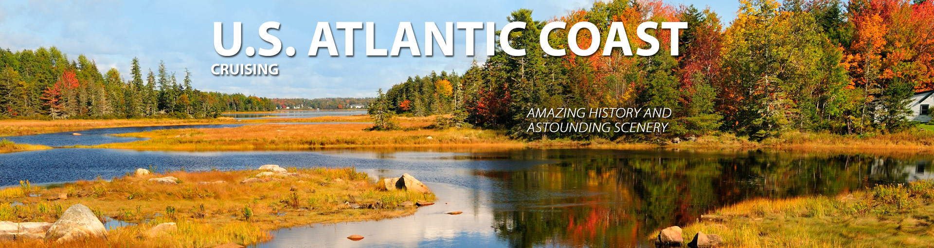 Cruises along U.S. Atlantic Coast