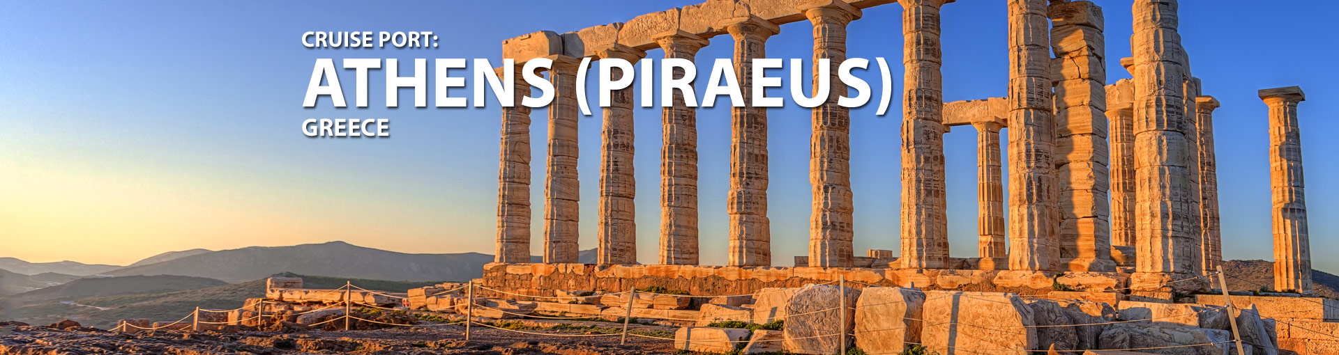 Cruises from Piraeus, Athens, Greece