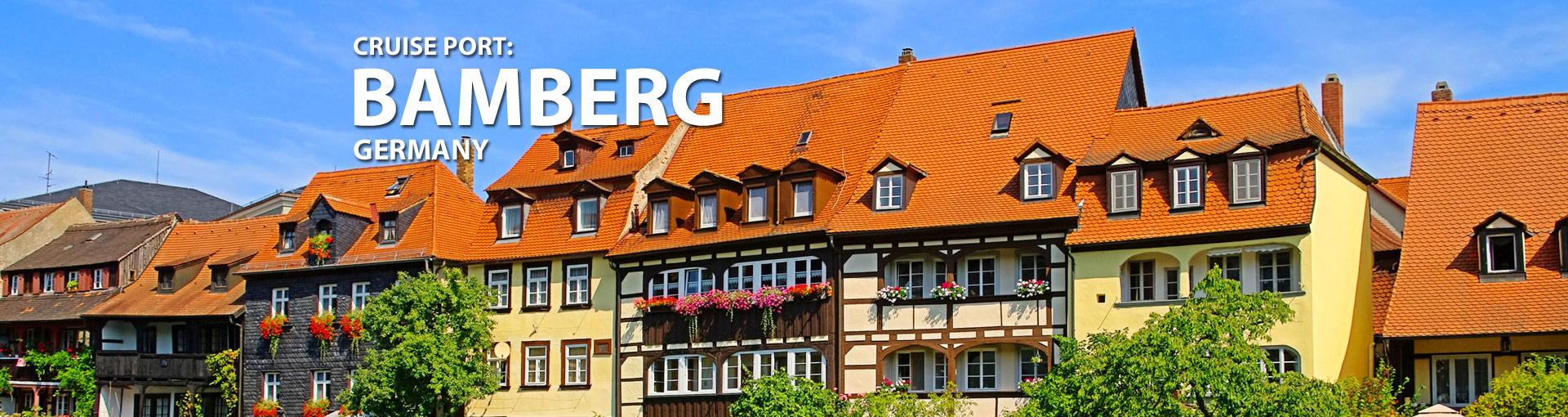 Cruises from Bamberg, Germany