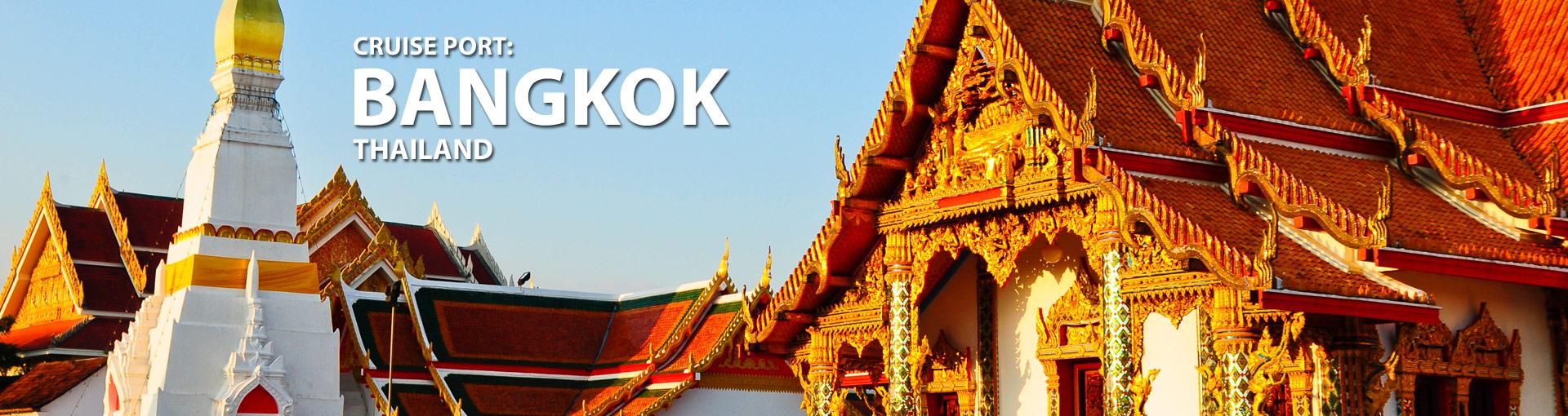 Cruises from Bangkok, Thailand