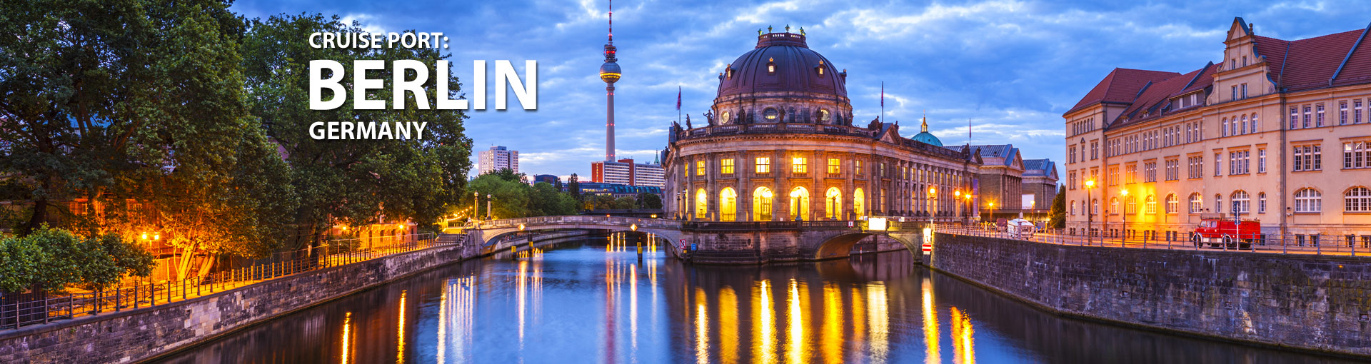 Cruises from Berlin, Germany