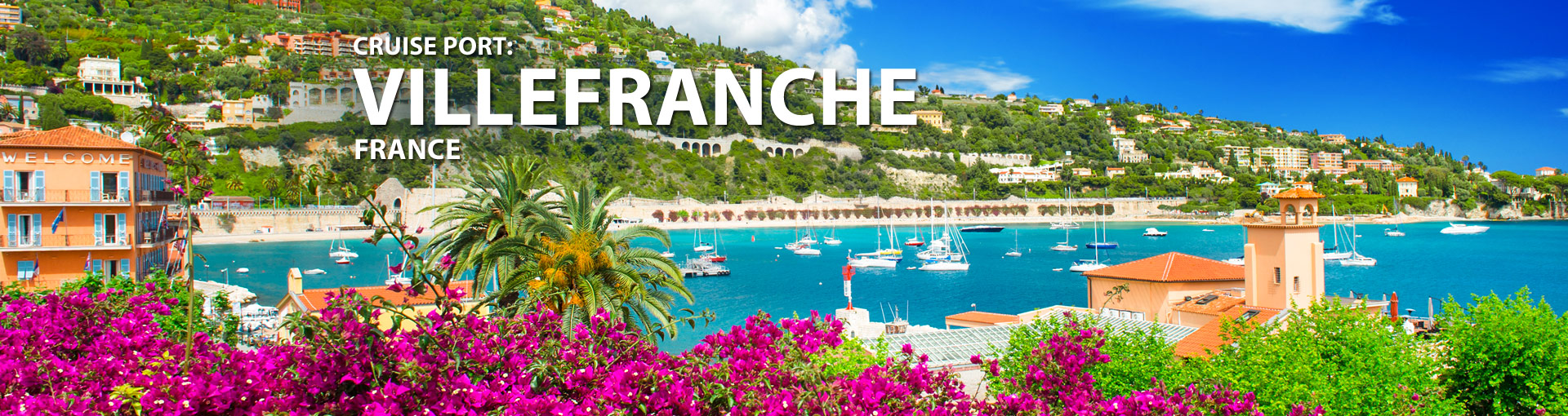 Cruises from Villefranche, France