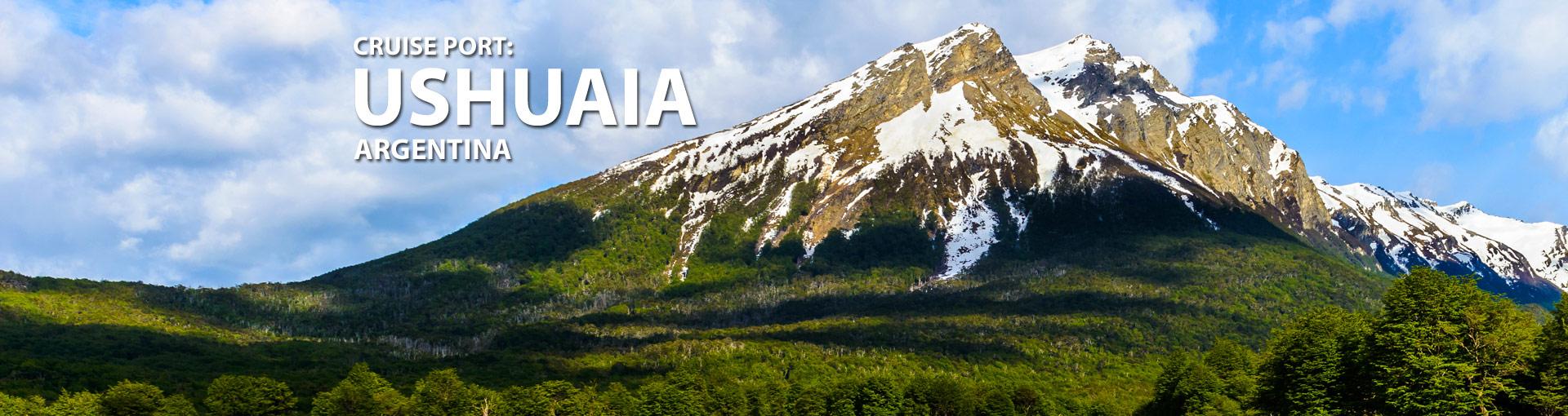 Cruises from Ushuaia, Argentina