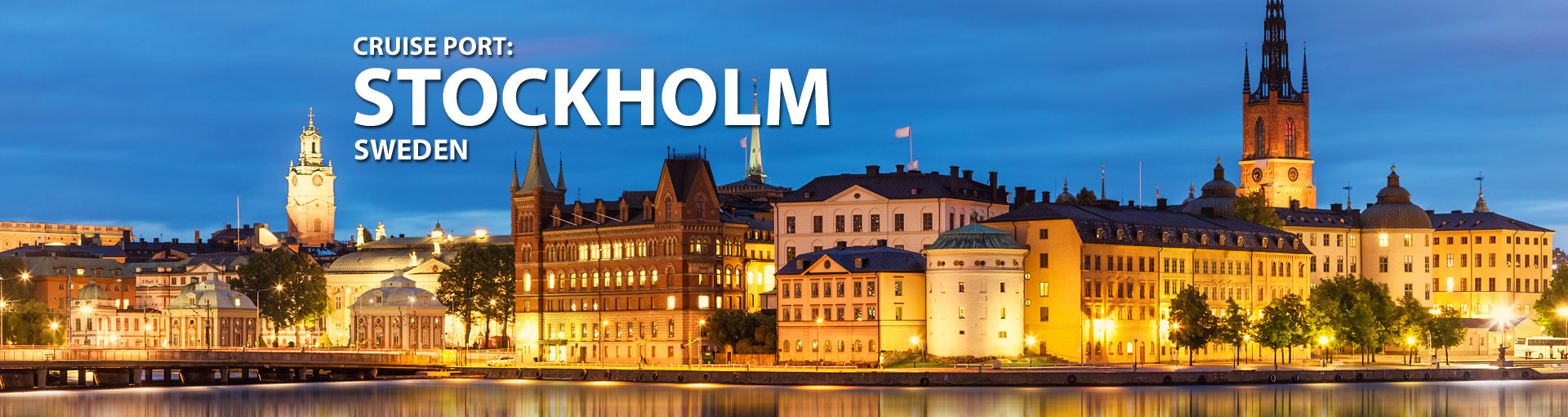 Cruises from Stockholm, Sweden