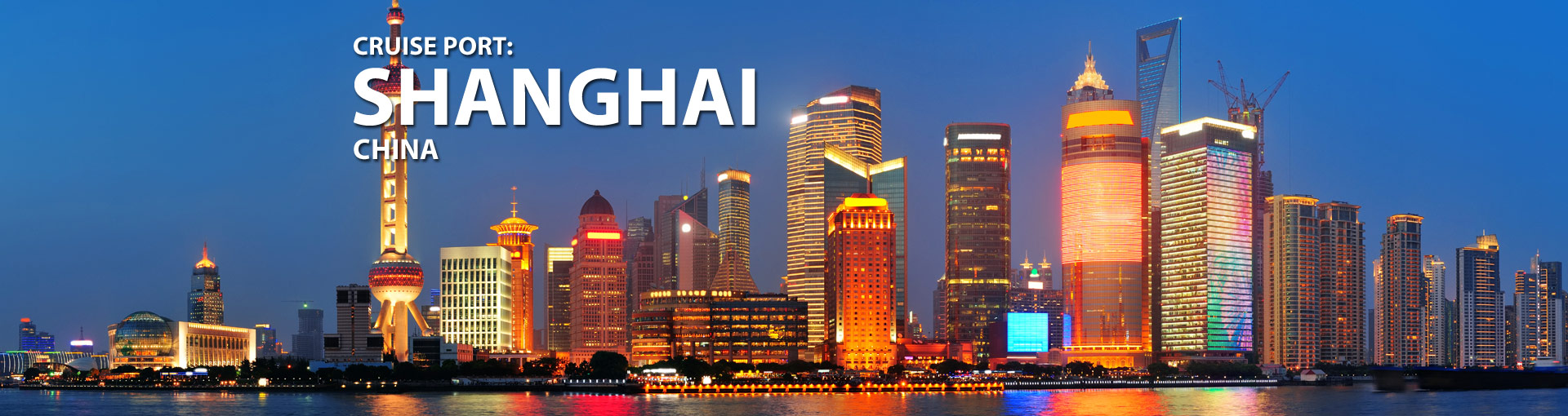 Cruises from Shanghai, China