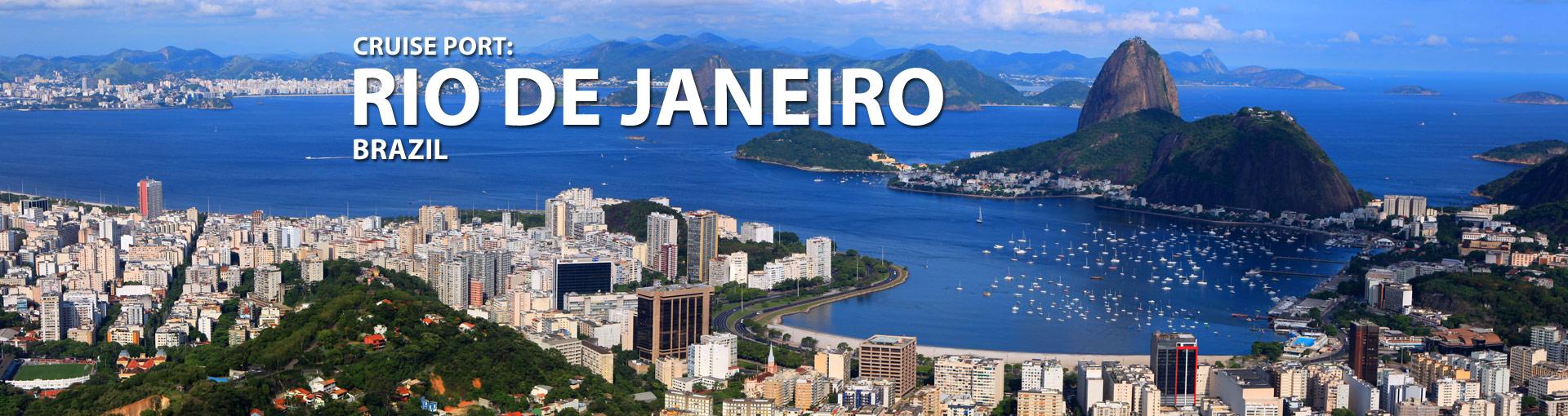 Cruises from Rio de Janeiro, Brazil