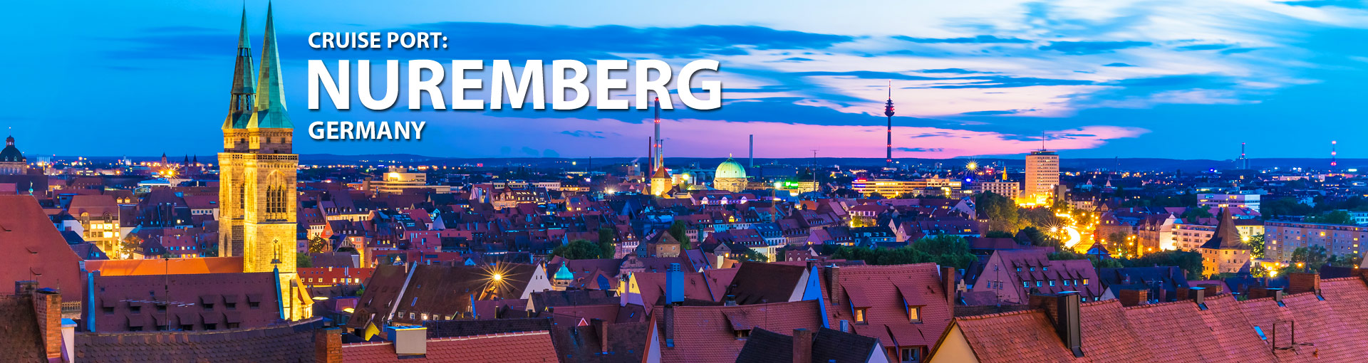 Cruises from Nuremberg, Germany