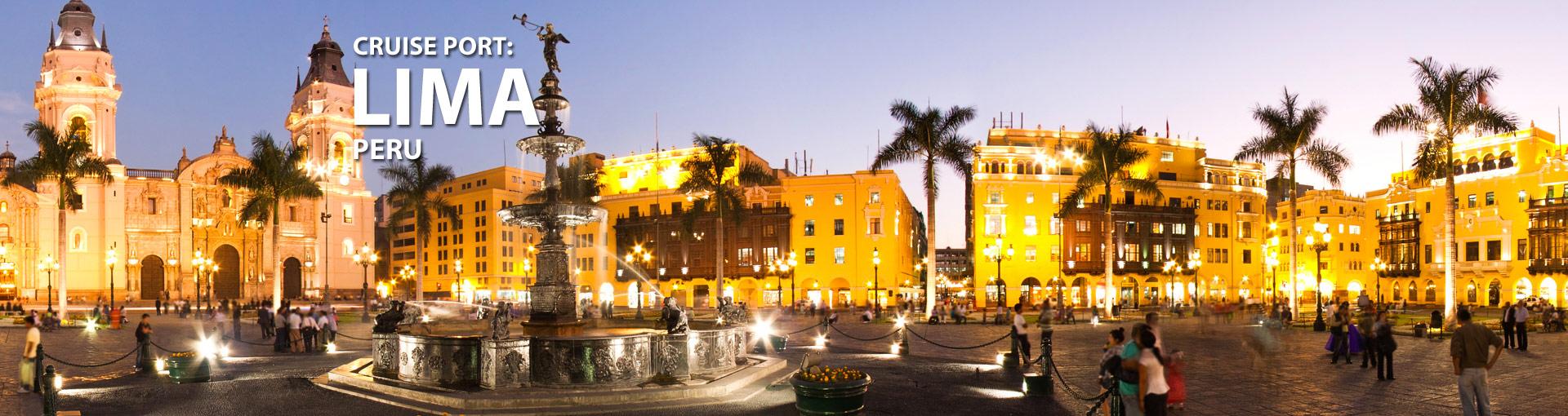 Cruises from Lima, Peru