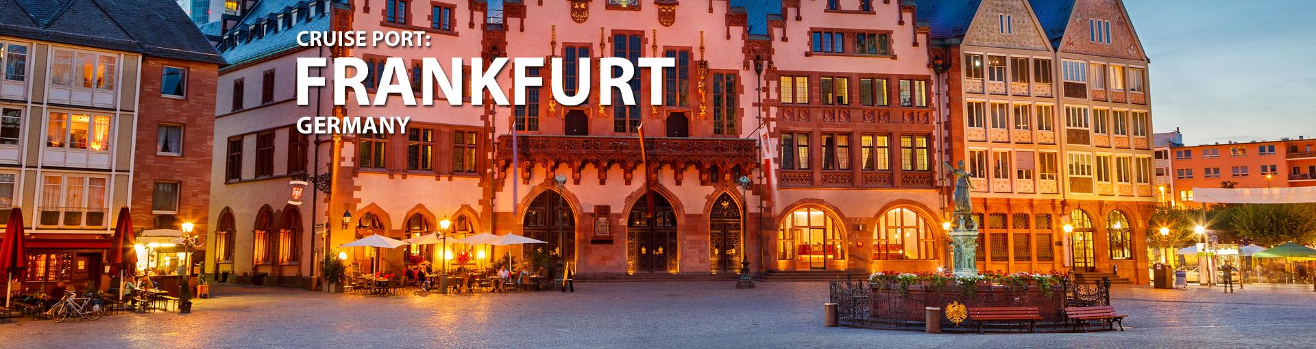 Cruises from Frankfurt, Germany