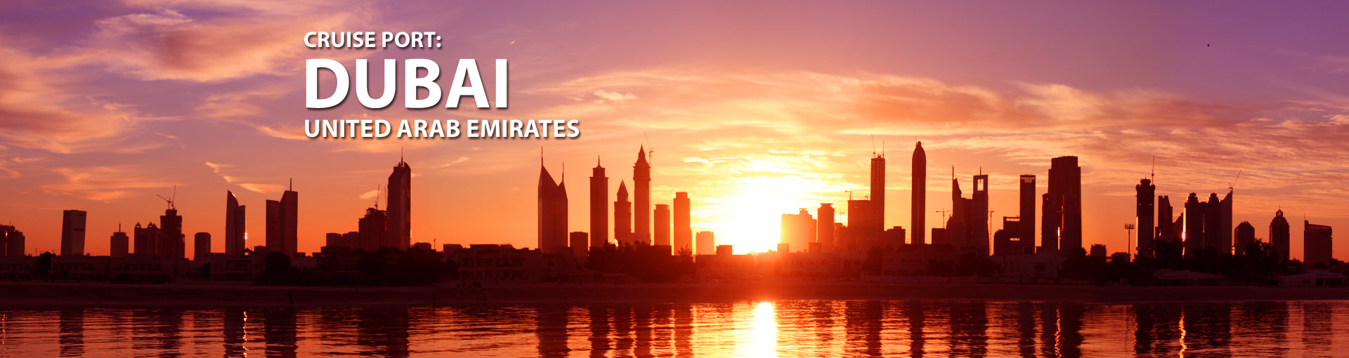 Cruises from Dubai, United Arab Emirates