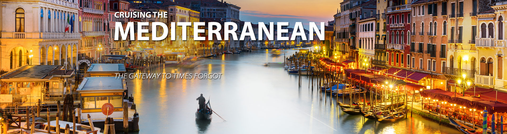 Cruise to the Mediterranean for a romantic getaway
