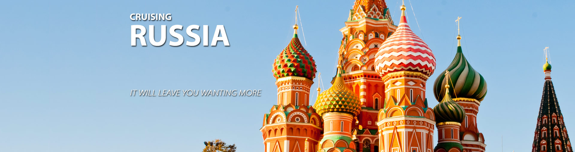 Explore Russian culture on a cruise to Russia