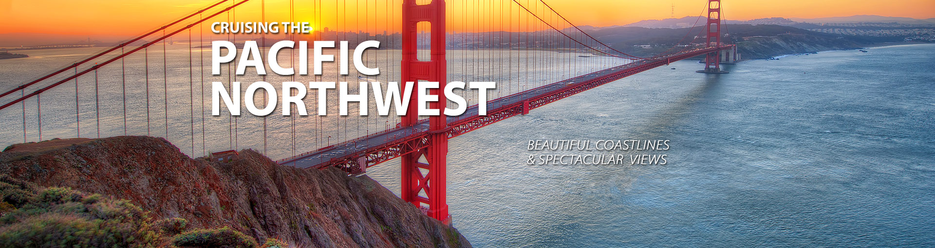 Cruise along the Pacific Coast of the US