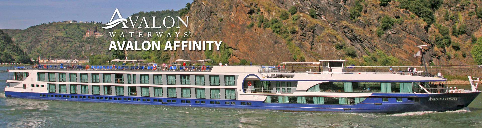 Avalon Waterways Affinity river cruise ship