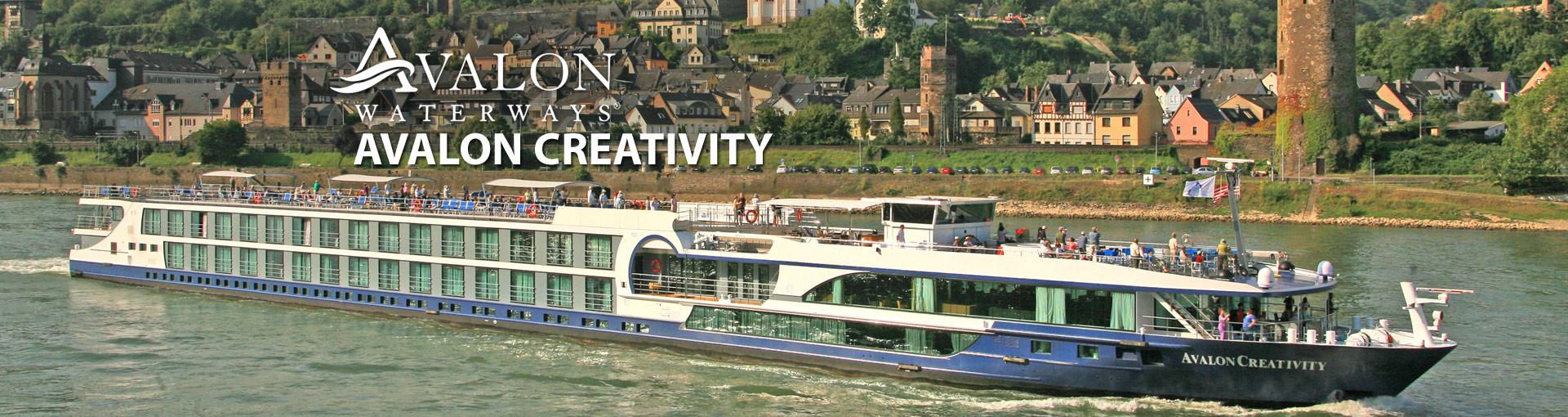 Avalon Waterways Creativity river cruise ship