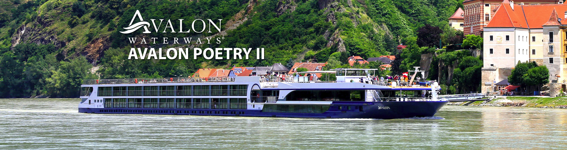 Avalon Waterways Poetry II river cruise ship
