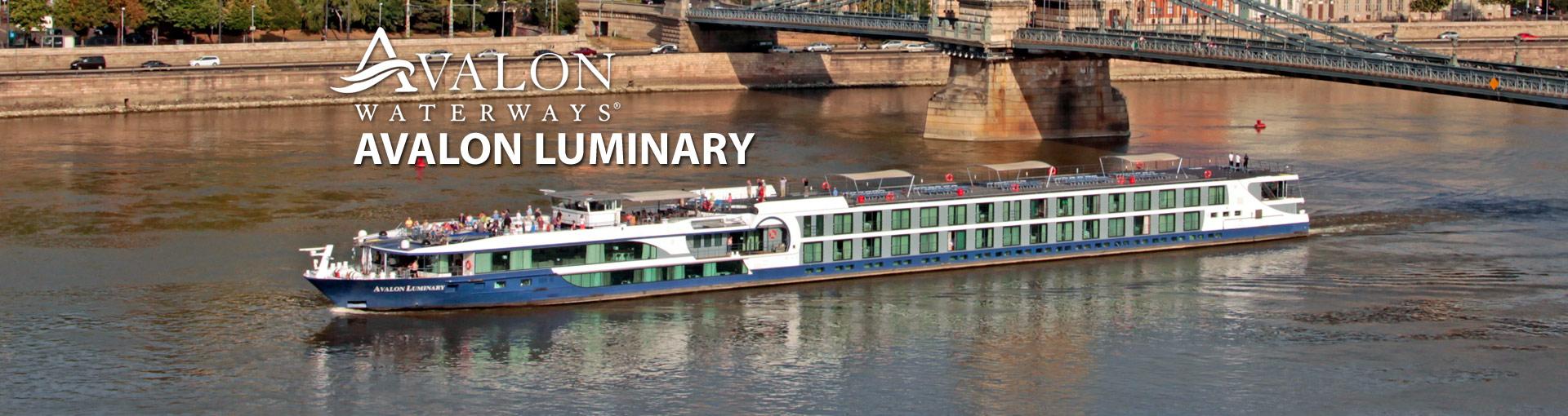 Avalon Waterways Luminary river cruise ship