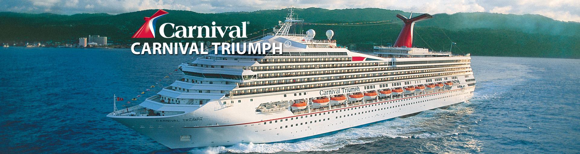 Carnival Triumph cruise ship