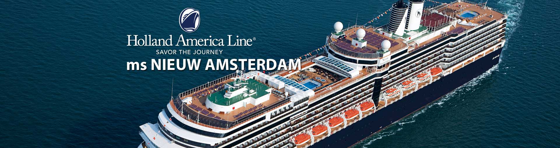 Holland America ms Nieuw Amsterdam cruise ship