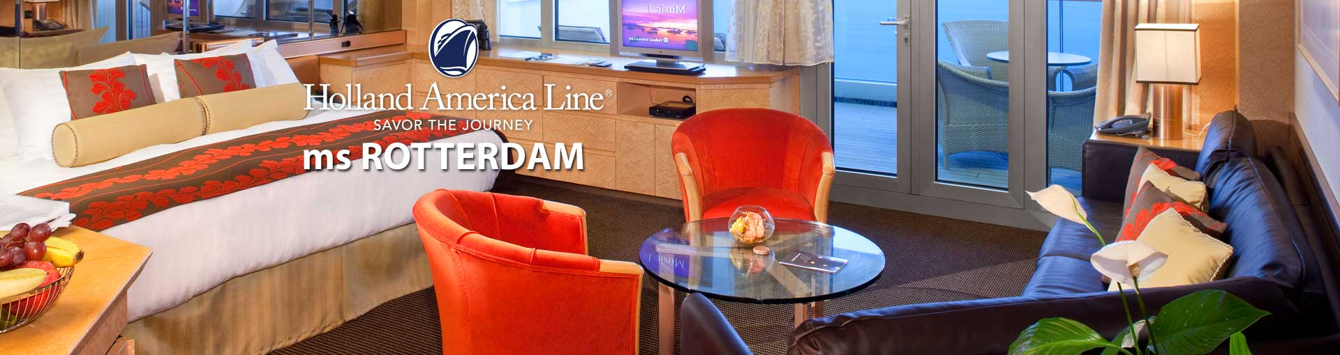 Holland America ms Rotterdam cruise ship