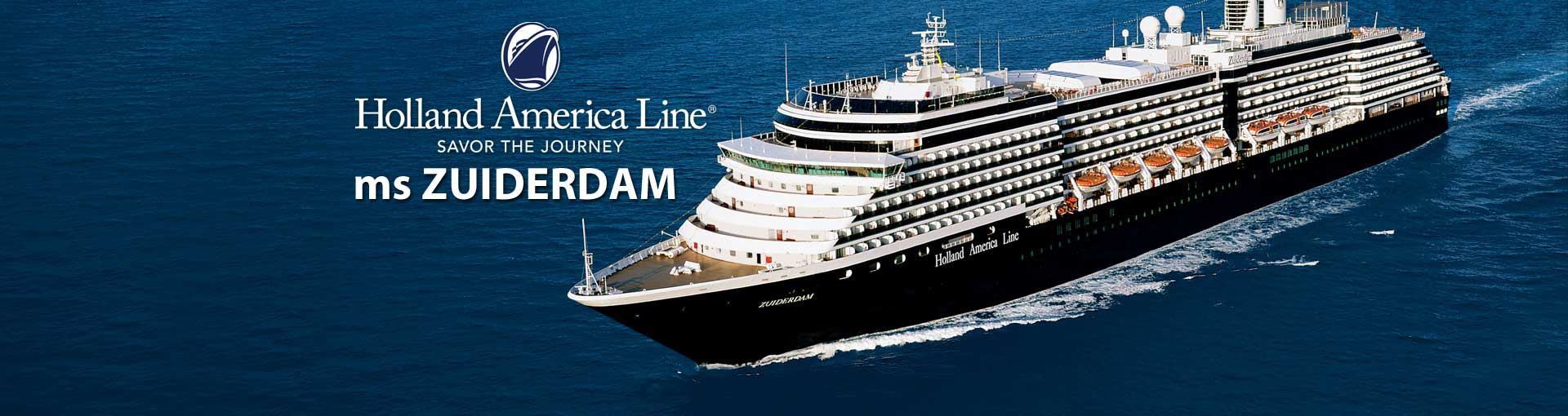 Holland America ms Zuiderdam cruise ship
