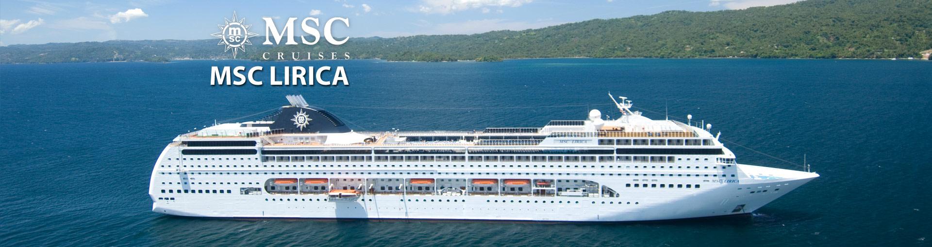Msc Lirica Cruise Ship 2018 And 2019 Msc Lirica