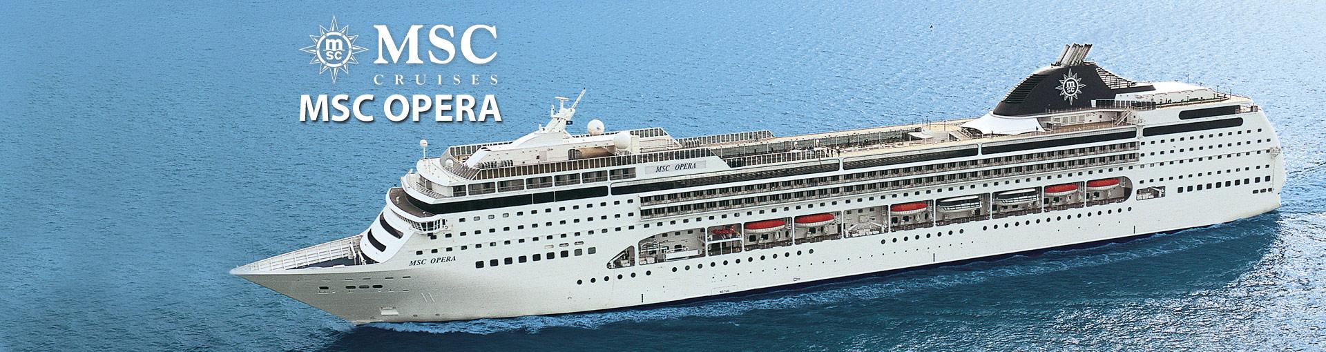 Msc Opera Cruise Ship 2018 And 2019 Msc Opera