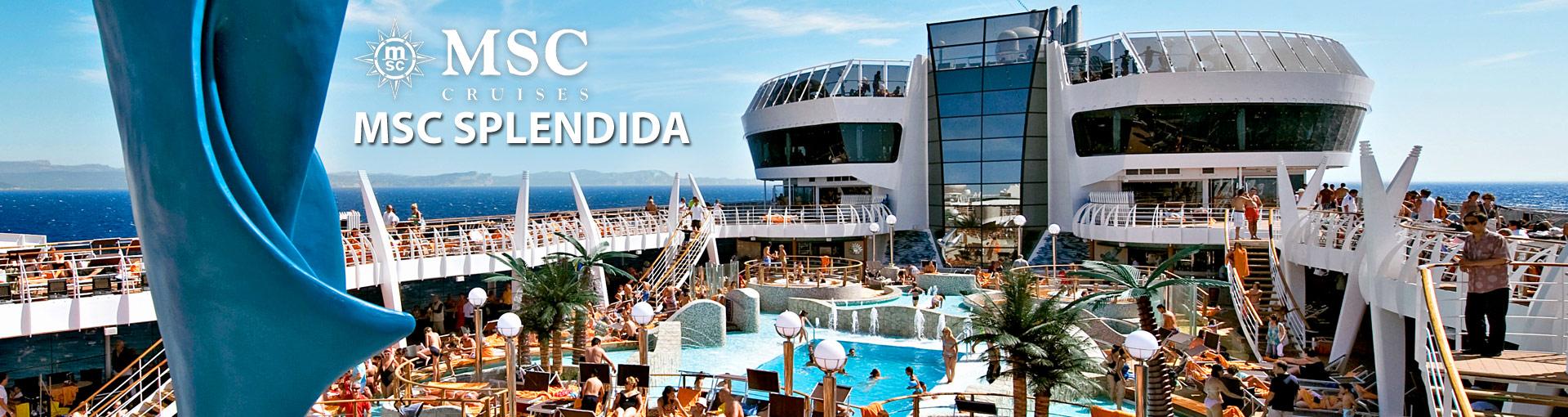 MSC Cruises MSC Splendida cruise ship