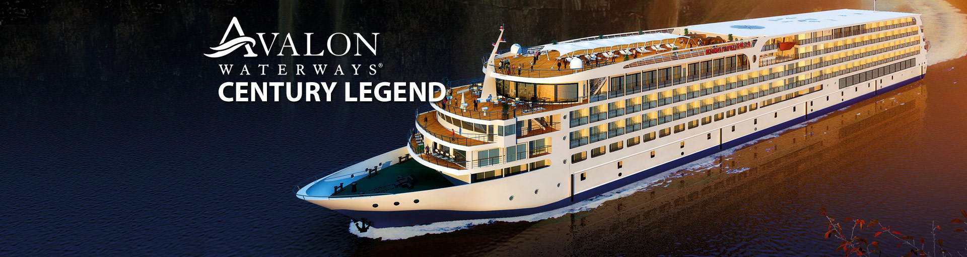 Avalon Waterways Century Legend river cruise ship