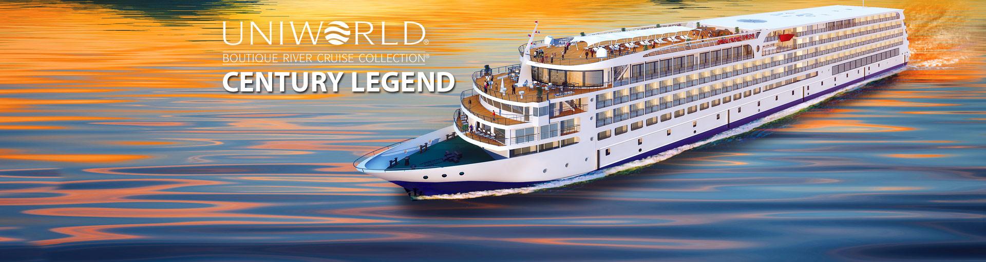 Uniworld River Cruises Century Legend river cruis