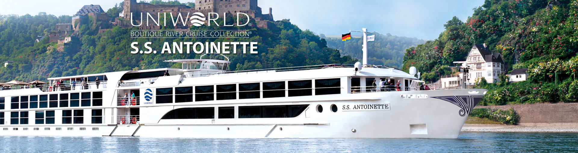 Uniworld River Cruises S.S. Antoinette river ship
