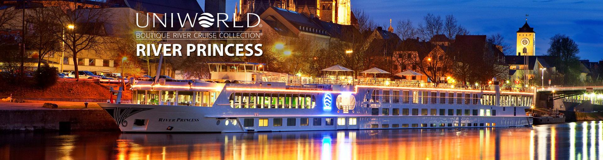 Uniworld River Cruises River Princess river ship