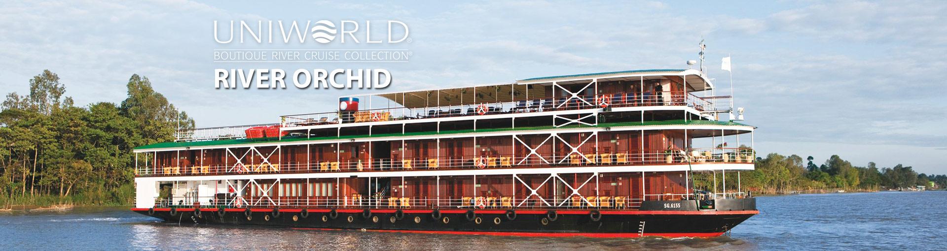 Uniworld River Cruises River Orchid river ship