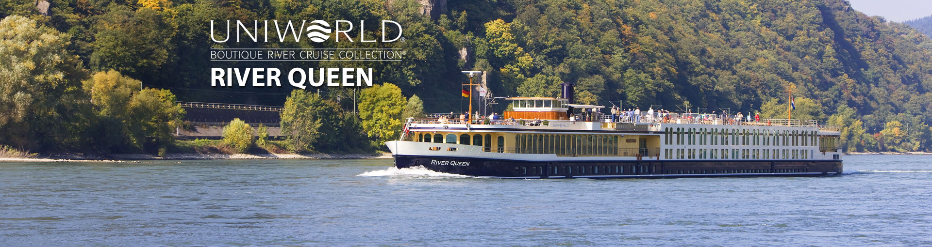 Uniworld River Cruises River Queen river ship