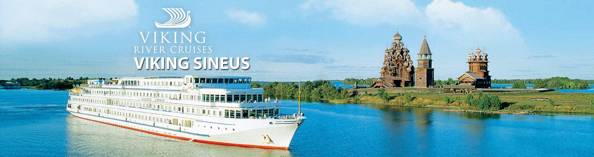 Viking Rivers Viking Sineus river cruise ship