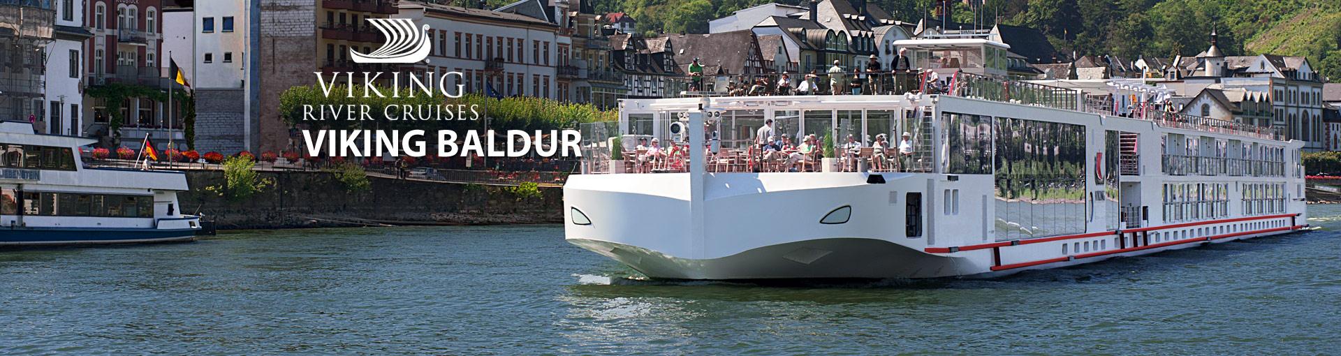 Viking Rivers Viking Baldur river cruise ship
