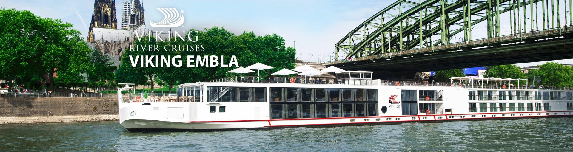 Viking Rivers Viking Embla river cruise ship