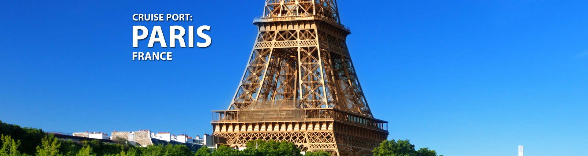 Cruises from Paris, France