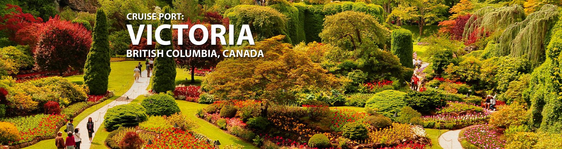 Cruises from Victoria, British Columbia