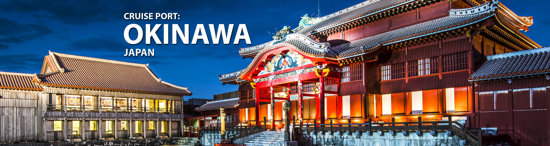 Cruises from Okinawa, Japan