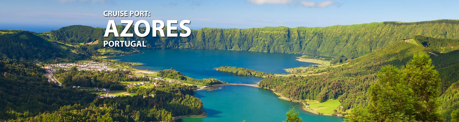 Cruises from Ponta Delgada, Azores, Portugal